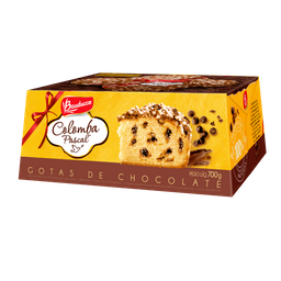 Colomba Gotas Chocolate Bauducco 500 g