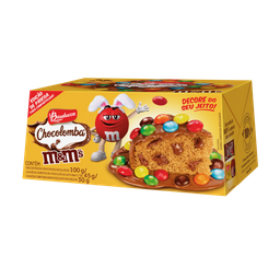 Mini Colomba M & M Bauducco 100 g