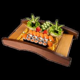 Sushi de salmão (18 unidades)