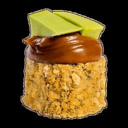 Nutella com pasta de abacate & banana