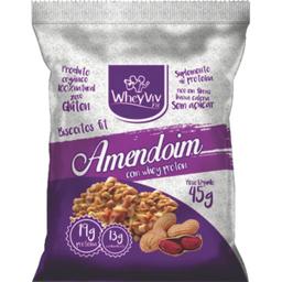 Biscoito De Amendoim Whey 45 g