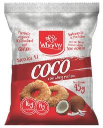 Biscoito De Coco Whey 45 g