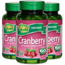 Cranberry 500 mg 60 Cápsulas