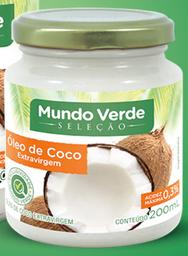 Óleo De Coco Mundo Verde Seleção Extra Virgem 200 mL