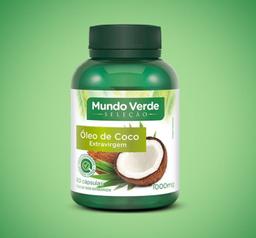 Óleo De Coco Mundo Verde Seleção Extra Virgem 60 Cápsulas
