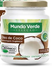 Óleo De Coco Mundo Verde Seleção Orgânico Extra Virgem 200 mL