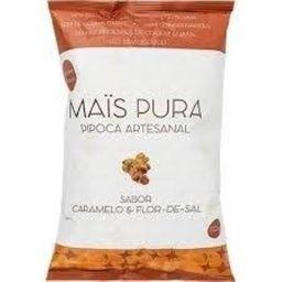 Pipoca Artesanal Caramelo E Flor De Sal 150 G Mais Pura