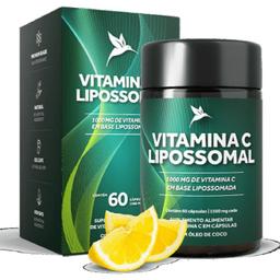 Vitamina C Lipossomal 1500 mg 60 Cápsulas