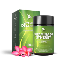 Vitamina D3 Synergy 1600 mg 60 Cápsulas