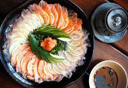 Carpaccio salmão trufado