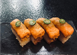 Crispy Rice Salmão Spicy Salmon