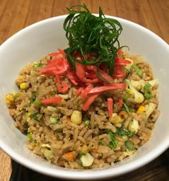 Wasabi Vegetable Fried Rice