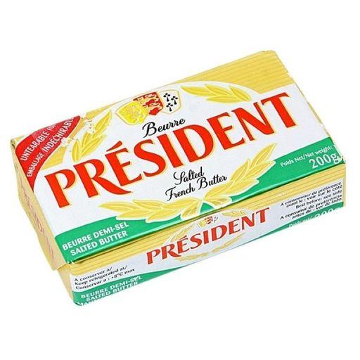 Manteiga President barra 200 g - Cód 303187