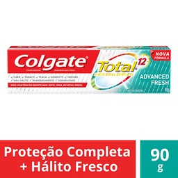 Creme Dental Colgate Total 12 Advanced Fresh - Cód 303231