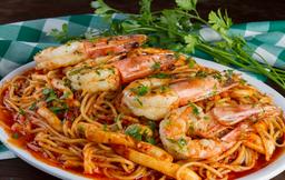 Spaghetti aos Frutos do Mar