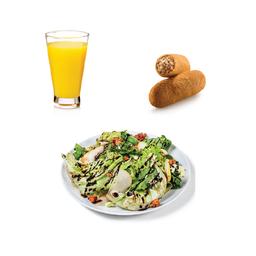 Combo Saladinha + Suco + Salgado