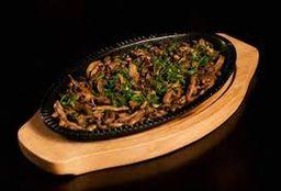 Shimeji ou Shitake na Manteiga