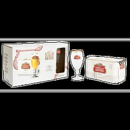 Stella Artois Kit Cerveja Lata + 1 Cálice