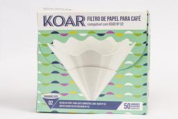 Filtro Papel Koar - 50 Unidades