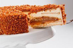 Torta Crocante Doce de Leite Argentino