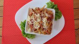 Porção de Batata Frita com Parmesão e Bacon - 400g
