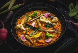 Paella Vegetariana para 2