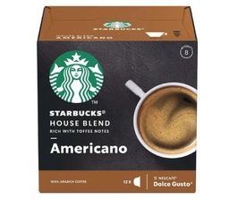 Doce Gusto Starbucks Americano House Blend - 12 Cápsulas