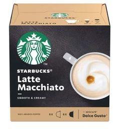 Doce Gusto Starbucks Café Latte - 12 Cápsulas