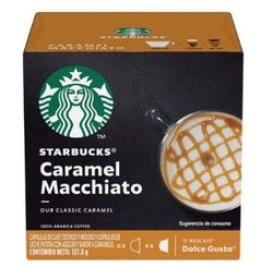 Doce Gusto Starbucks Caramel Macchiato  - 12 Cápsulas