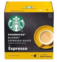 Doce Gusto Starbucks Espresso Blonde Roast - 12 Cápsulas