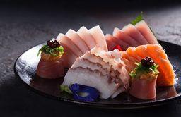 Sashimi de Barriga de Salmão