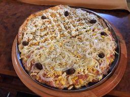 Pizza Grande - 8 pedaços 2 sabores