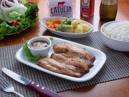 Filet de Tilápia Grelhado com Risoto