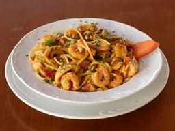 Espaguetti com Frutos do Mar