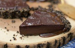 Torta de chocolate 80% cacau