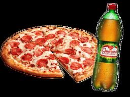 Pizza Grande com Bebida Grátis