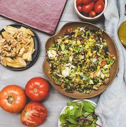 Monte sua Salada com Saint Peter