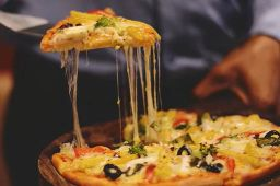 Pizza pequena 6 fatias