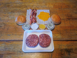 Quarentiners Kit - 1 Burger