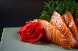 Sashimi de salmao