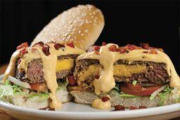 Jack Cheddar Bacon - Hambúrguer Recheado