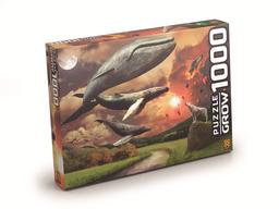 Quebra-Cabeça P1000 Flying Whales