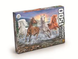 Quebra-Cabeça P1500 Cavalos Selvagens