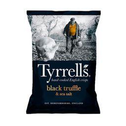 Tyrrells Batata Frita Trufa Com Sal Marinho
