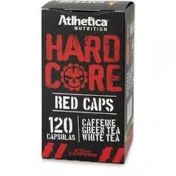 Suplemento Atlhetica Hardcore Red Cafeína 210 Mg 120 Cápsulas