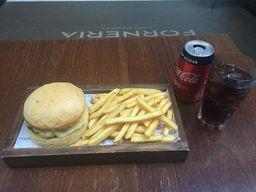 Cheeseburguer+Batata+Coca-Cola