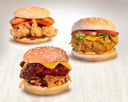 3 Burgers Clássicos HNT