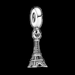 Charm De Prata Pendente Torre Eiffel