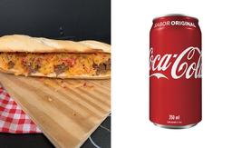 Combo Baguete De Queijo Do Reino e Carne De Sol + Coca-Cola