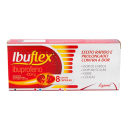 Legrand Ibuflex Analgesico 400mg 8 Capsulas Gelatinosa